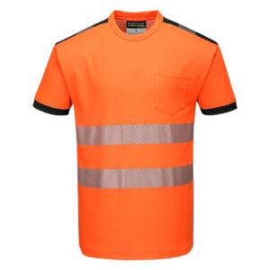 T181OBR-Warnschutz-T-Shirt