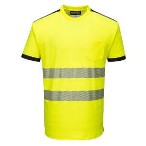 T181YER-Warnschutz-T-Shirt