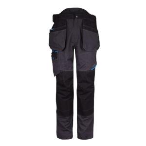 T702MGR-Arbeitshose mit Taschen-Grau