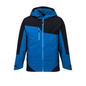 S602 X3 Two-Tone-Arbeitsjacke blau vorne