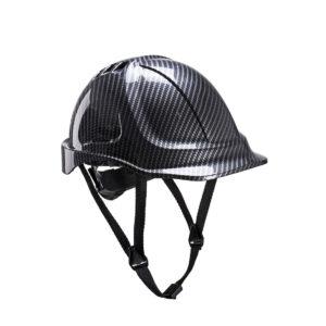 Bauhelm Carbon Look Schutzhelm Baustelle PC55 Arbeitsschutz