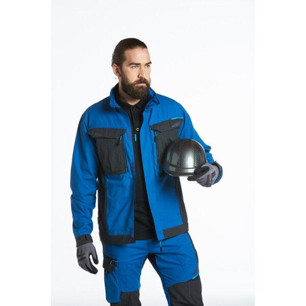 Bauhelm Carbon Look Schutzhelm Baustelle PC55 Arbeitsschutz Beispielbild