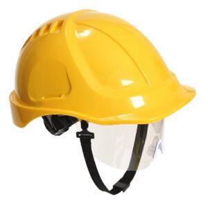 Schutzhelm für Baustelle gelb Portwest PW54