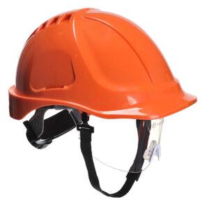 Schutzhelm für Baustelle orange Portwest PW54